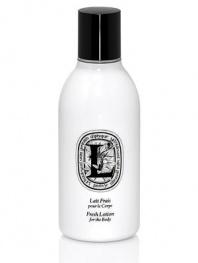 This fluid yet generous lotion combines the moisturizing properties of orange blossom water with the essential fatty acids of organic sweet almond oil and the nourishing virtues of macadamia nut. It leaves the skin deliciously soft, soothed and supple. Does not contain parabens, sythetic coloring agents and sulfates. Transparent squeeze bottle with black Bakelite cap.