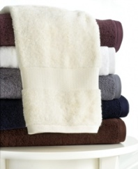 Decadent softness is an affordable luxury with Bianca FineSpun bath towels. Embrace the wonderfully plush all-cotton hand towel in six versatile hues, each an easy match for the traditional or contemporary bath.