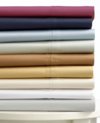Outfit your home in classic luxury with Lauren Ralph Lauren's Prescott sateen pillowcases. Woven of soft, breathable 500-thread count cotton and available in a versatile palette of sophisticated, modern hues.