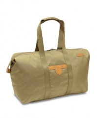 Jetting around is easier with the convenience of two versatile do-it-all bags. A spacious duffel puts your travel necessities at easy reach, while the crossbody bag is the perfect compact size for extra storage inside the duffel or as a separate carrying bag. Lifetime warranty. Qualifies for Rebate