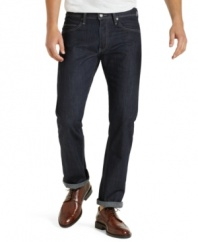 Instantly lose a few inches with these slim jeans from Levi's.