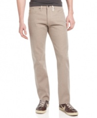 Shift into neutral. Give yourself a break from the blues with these Clayton jeans from Sean John.