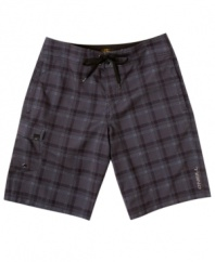 It's never been cooler to be square. These board shorts from O'Neill give an old pattern a rad, new vibe.