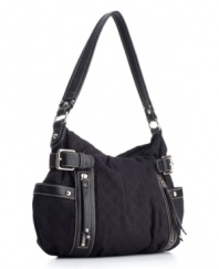 Make the transition from workweek to weekend easy and effortless with Nine West's good-looking Central Time hobo.