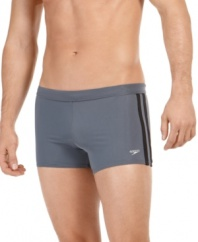 Designed for comfort, these swim briefs from Speedo are made to keep up with your active lifestyle.