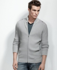 Your most laid-back layer. Zip into this seasonal style from INC International Concepts.