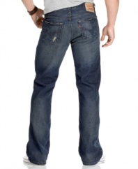 This classic pair of jeans features some modern updates and a perfect worn-in look and feel.