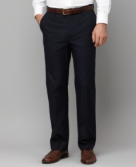 Punctuate a good look with a great pair of pants. This slim-fit Tommy Hilfiger style is the one you want.