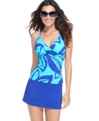 Make this easy skirted swim bottom from JAG your new pool-side staple!