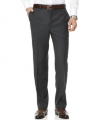 Style speaks volumes. Don't hide behind baggy pants -- a sleek look from DKNY is cool and confident.