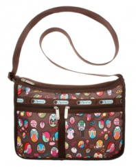 This roomy nylon shoulder bag from LeSportsac is perfect for any day, everyday.
