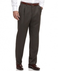 With a neutral palette and a clean, classic finish, these Lauren by Ralph Lauren pants are instant sophistication.