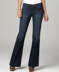 Saved by the bell? You bet, in Lucky Brand Jeans' vintage-inspired Sweet N Flare pair!