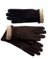 Through rain or shine and sleet or snow. Your hands are safe inside the Ultra Plush lining of these durable gloves by Isotoner.