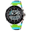 Susenstone(TM) New Fashion S shock Mens Digital LCD Waterproof Alarm Date Analog Sport Watch (Green)