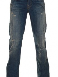 True Religion Men's Ricky Flap Pocket Relaxed Straight Jean In Rough Road